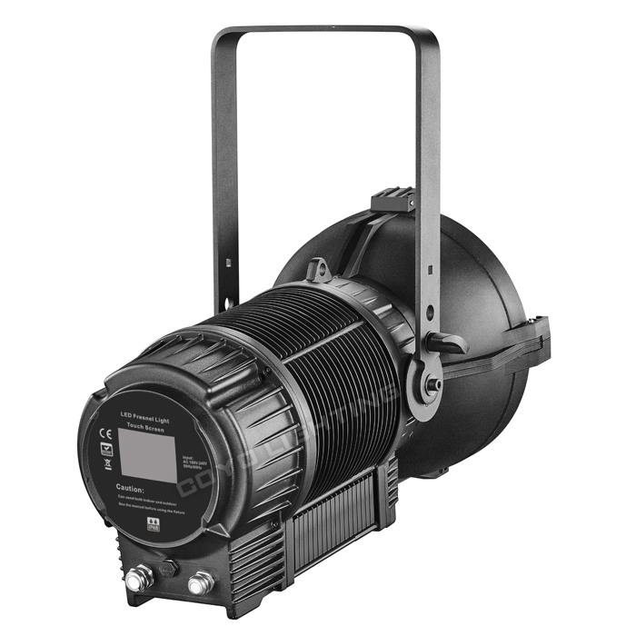 300W RGBAL LED Fresnel Spotlight Zoom Outdoor