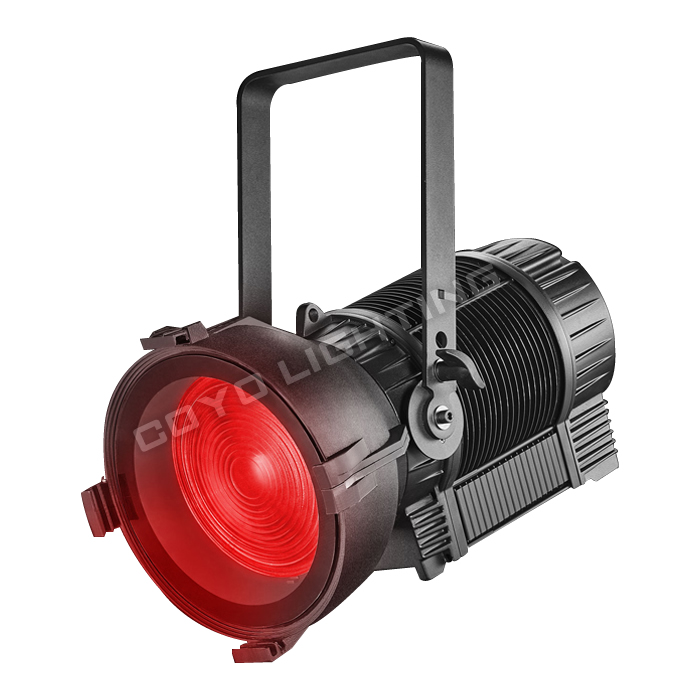 CSL-F300IP IP65 Fresnel Light LED RGBAL Zoom Noiseless